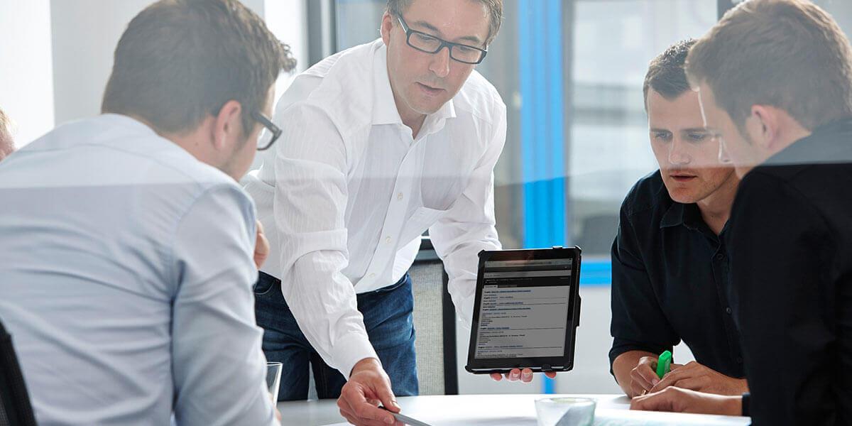 L-mobile Digitalisierte Lagerlogistik Infor COM und Digitales Service Management Referenzbericht INOTEC Sicherheitstechnik GmbH
