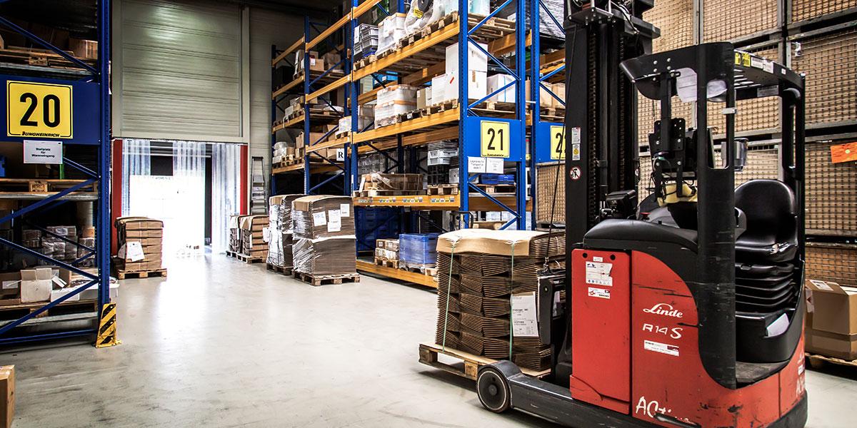 L-mobile Digitalisierte Lagerlogistik proALPHA Referenzbericht Warehouse und Hardware Woelm GmbH