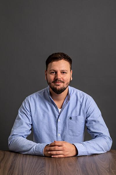 L-mobile Mitarbeiter Denis Damer Trainee
