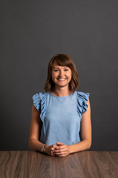 Unsere Mitarbeiterin Olga Koschel
