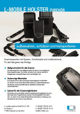 L-mobile mobile Softwarelösungen Flyer L-mobile Holster