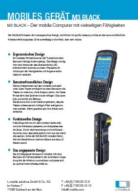 L-mobile mobile Softwarelösungen Flyer M3 Black