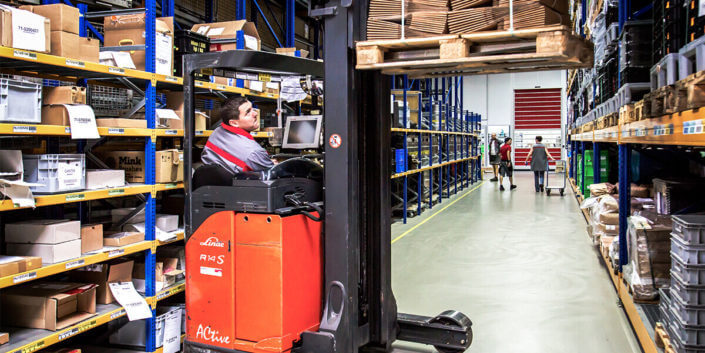 L-mobile Digitalisierte Lagerlogistik warehouse ready for ALPHAPLAN Anwendungsmodul Einlagerung