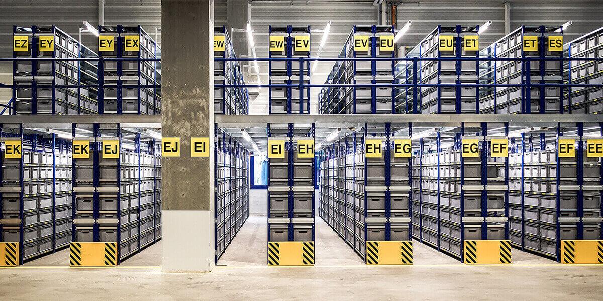 L-mobile Digitalisierte Lagerlogistik warehouse ready for AX Erweiterungsmodul