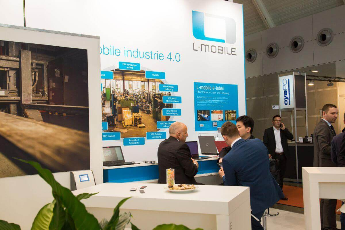 L-mobile Digitalisierte Lagerlogistik Für die LogiMAT 2017 setzt sich L-mobile große Ziele! Sliderbilder