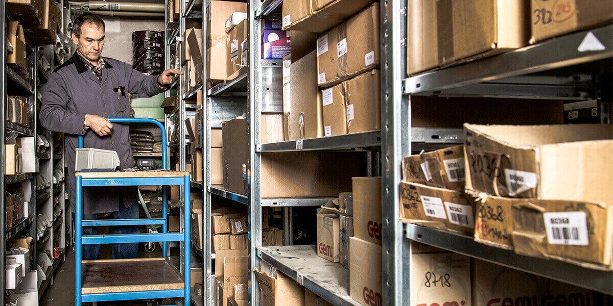 L-mobile Digitalisierte Lagerlogistik warehouse ready for SAP Erweiterungsmodul Kommissionierung Lieferung