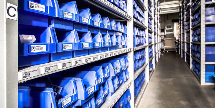 L-mobile Digitalisierte Lagerlogistik warehouse ready for ALPHAPLAN Anwendungsmodul Nachschub