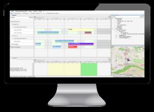 Effiziente Termin- und Tourenplanung im Field Service durch eine Field Service Management Software