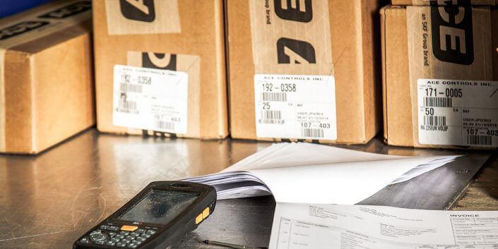 L-mobile digitalizált raktárlogisztika warehouse ready for infra:NET alkalmazási funkciók Csomagolási jegyzék