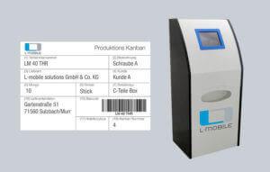 L-mobile Digitale Objektverfolgung Schnellere Prozesse durch RFID Kanban2