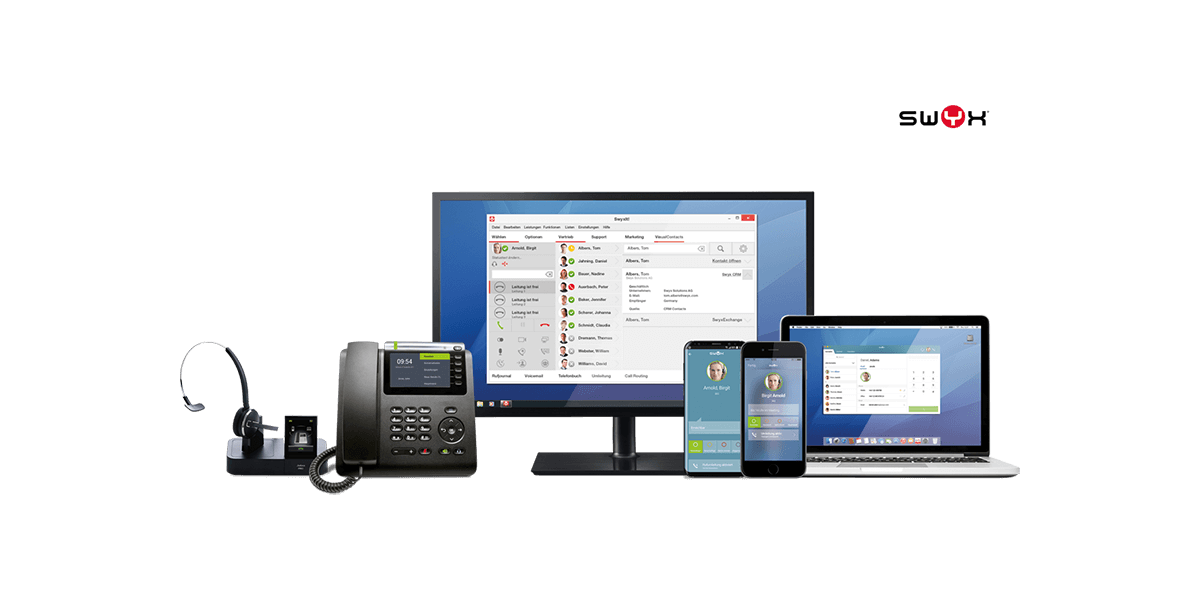 L-mobile Hardware IT-Service Voice over IP SWYX-Telefonanlagen
