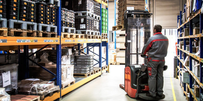 L-mobile Digitalisierte Lagerlogistik warehouse ready for ALPHAPLAN Anwendungsmodul Umlagerung