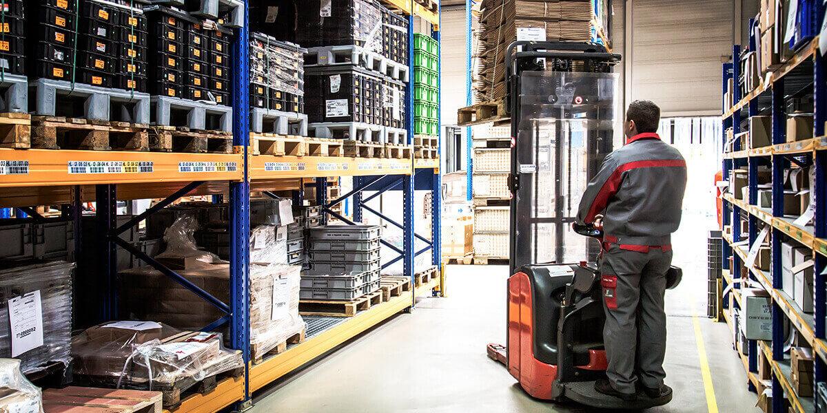 L-mobile Digitalisierte Lagerlogistik warehouse ready for AX Basismodul Einfache Umlagerung