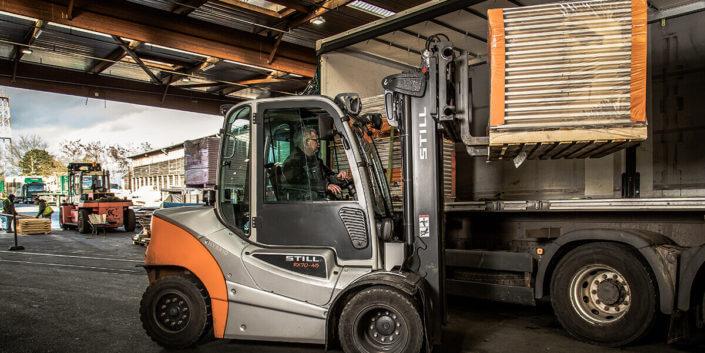 L-mobile Digitalisierte Lagerlogistik warehouse ready for SAP Erweiterungsmodul Wareneingang