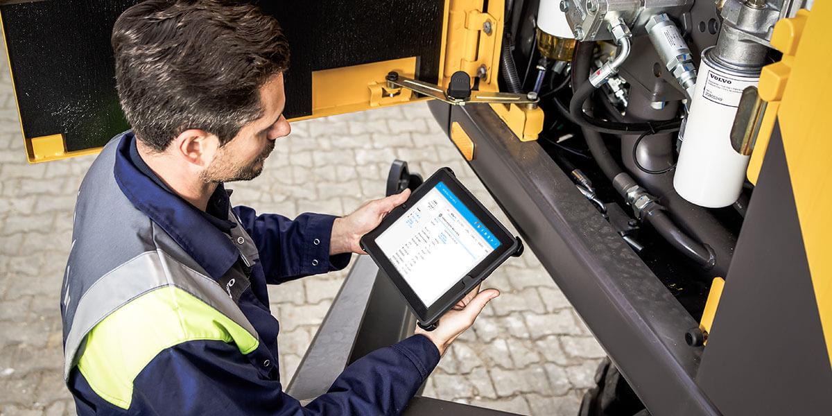L-mobile Digitales Service Management Funktionen Auto-ID Technologien im After Sales Service Identifizierung von Ersatzteilen Maschinen