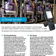 L-mobile mobile Softwarelösung Referenzbericht L-mobile warehouse ready for NAV falch GmbH