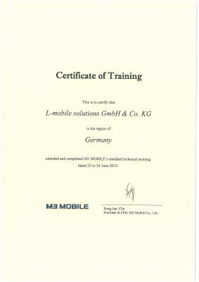 L-mobile mobile Softwarelösungen Zertifikate Alexander Führus
