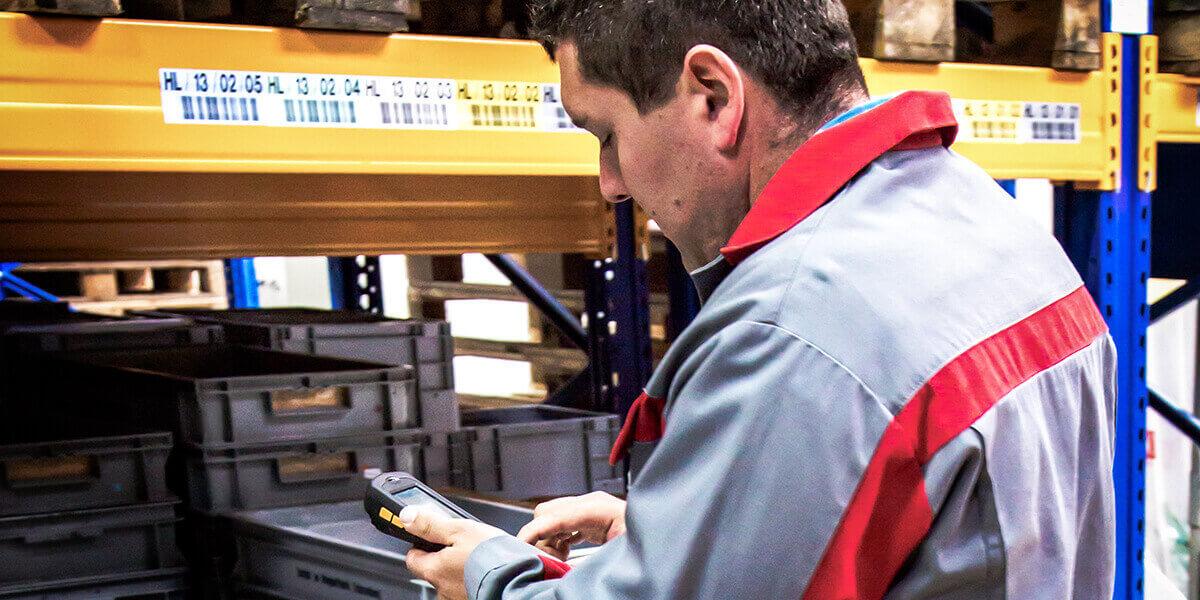 L-mobile digitalizált raktárlogisztika warehouse ready for SAP készletinformáció alapmodul