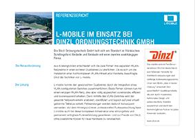 L-mobile mobile Softwarelösungen Referenzbericht L-mobile infrastructure Dinzl Ordnungstechnik GmbH