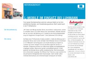 L-mobile mobile Softwarelösungen Referenzbericht L-mobile infrastructure Luhmann