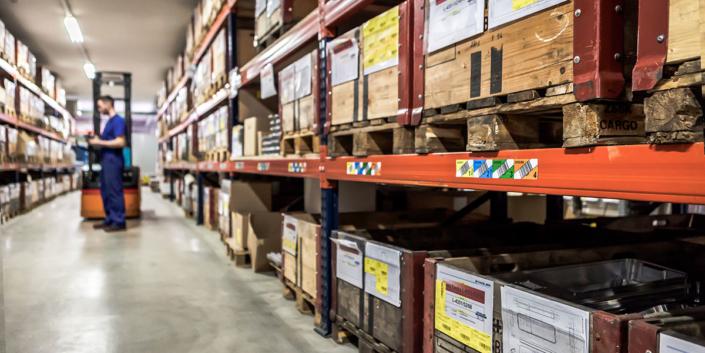 L-mobile Digitalisierte Lagerlogistik warehouse ready for Sage OL/100