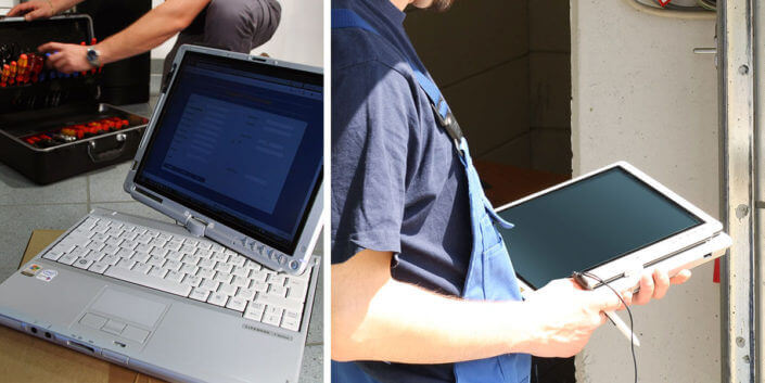 L-mobile Digitales Service Management Infothekbeitrag Flexible Multitalente Laptops & Convertibes im Serviceeinsatz