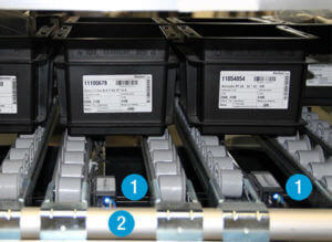L-mobile Digitalisierte Lagerlogistik Infothekbeitrag vollautomatisiertes Kanban Regal