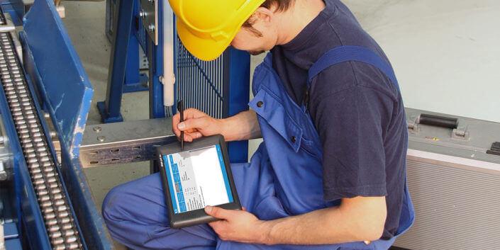 L-mobile Digitales Servicemanagement Infothekbeitrag Schlanke Begleiter Tablets im Serviceeinsatz