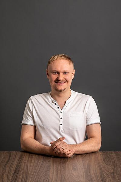 Unser Mitarbeiter Anton Makarov Junior Software Engineer