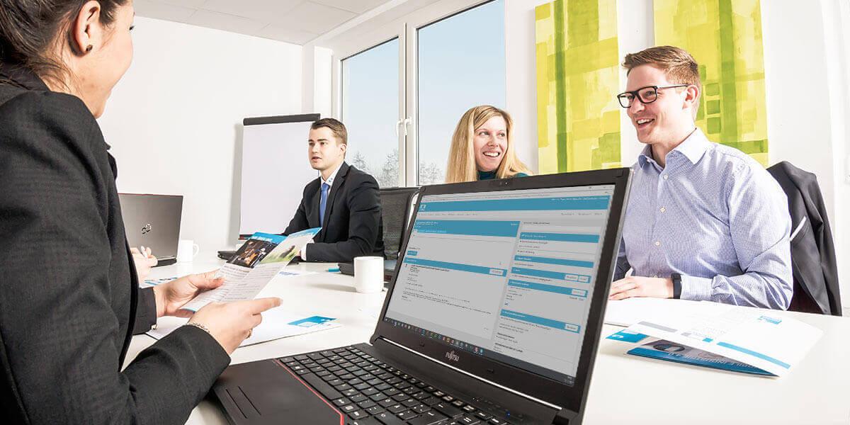 Digitalisiertes Service Management Infothekbeitrag L-mobile CRM bietet Schnittstelle zu Cleverreach