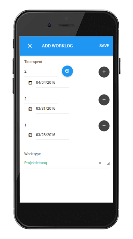 L-mobile Vernetztes Projektmanagement Projektplanung Funktionen Mobile Leistungserfassung
