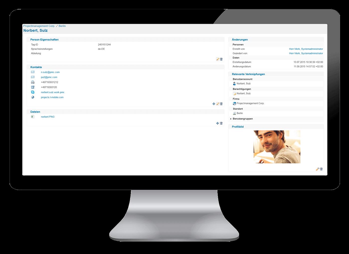 L-mobile Vernetztes Projektmanagement Projektplanung Funktionen Benutzerlizenzierung
