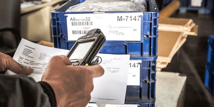L-mobile digitalizált raktárlogisztika L-mobile ready for Infor COM kiegészítő modul Rakjegyzékek