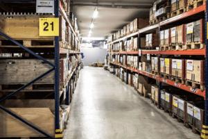 Digitalisierte Lagerlogistik L-mobile warehouse Lagerplatzauszeichnung Lagergangsschilder