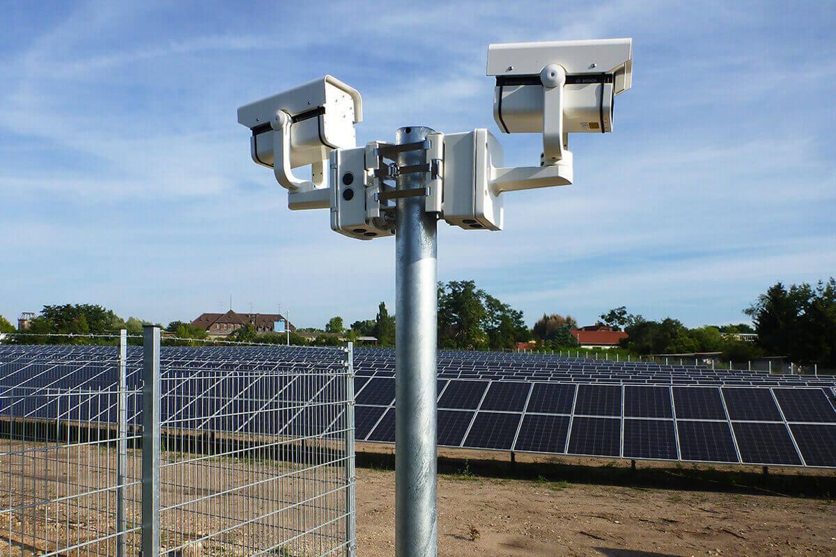 L-mobile Hardware Videoüberwachungssystem Doppel-Videokamera