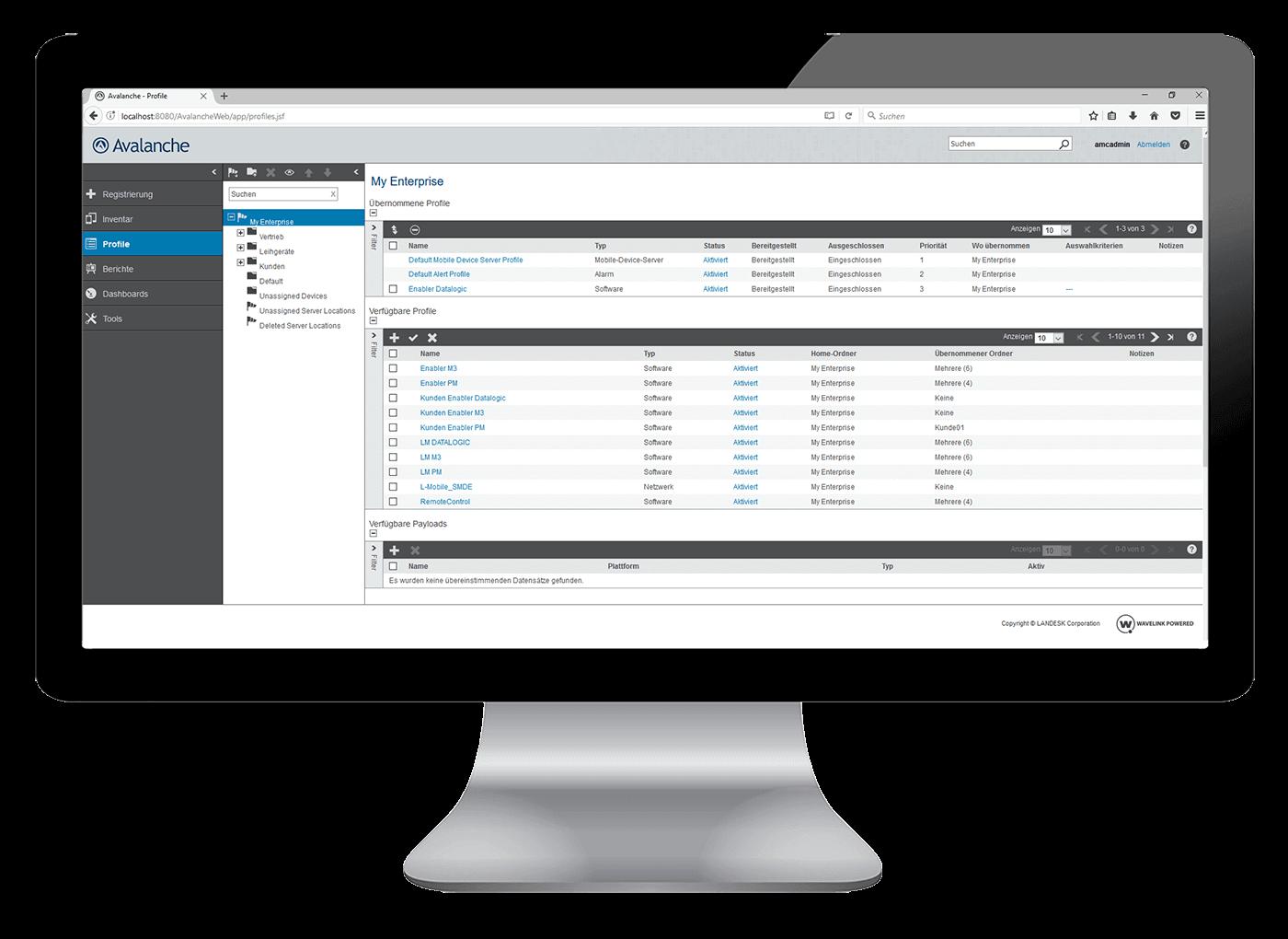 Digitalisierte Softwarelösungen L-mobile Dienstleistungen Softwareeinführung Hardwarekonfiguration Gerätemanagement
