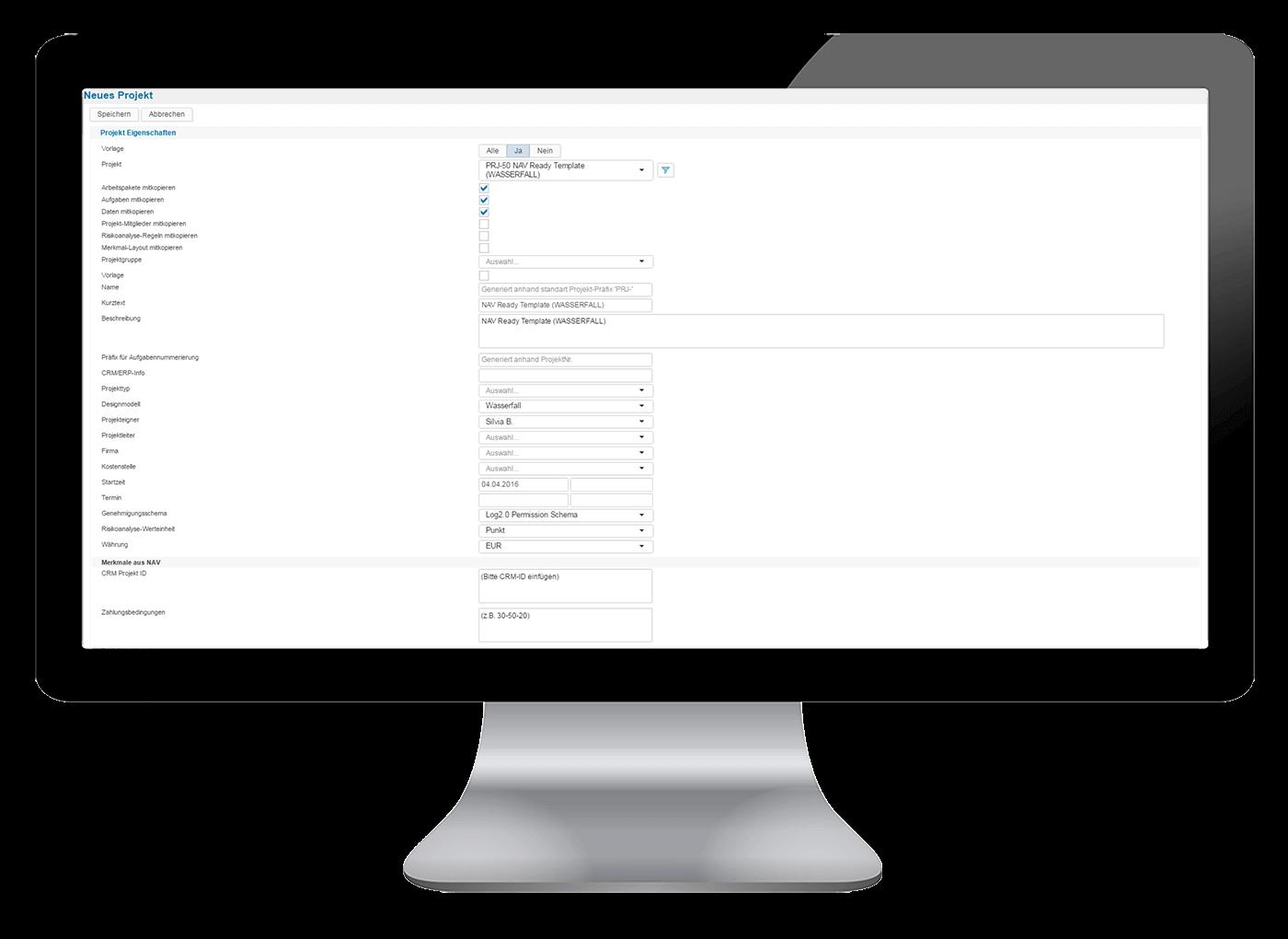 L-mobile Vernetztes Projektmanagement Projektplanung Funktionen Projektvorlagen Templates