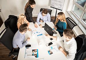 L-mobile mobile Softwarelösungen Produkt Vernetztes Projektmanagement