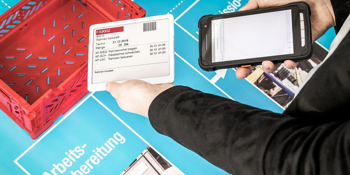 L-mobile Digitalisierte Produktion Infothek Industrie 4.0 Koffer