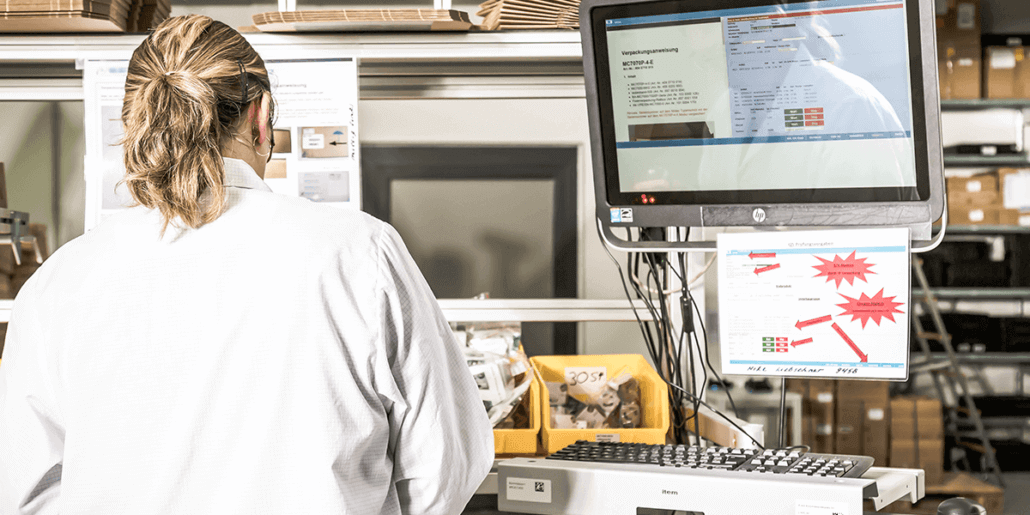 Wie kann Ihnen die digitalisierte Lagerlogistiklösung L-mobile warehouse ready for NAV Medical zu einer Vereinfachung Ihrer Logistikprozesse verhelfen?