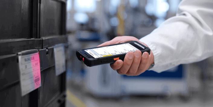L-mobile Digitalisierte Lagerlogistik Referenzbericht UX Gruppe