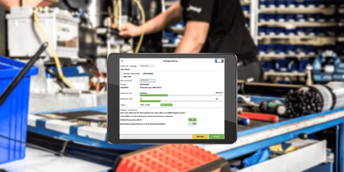 L-mobile digitalizált gyártási adatrögzítő minőségirányítási bevezető