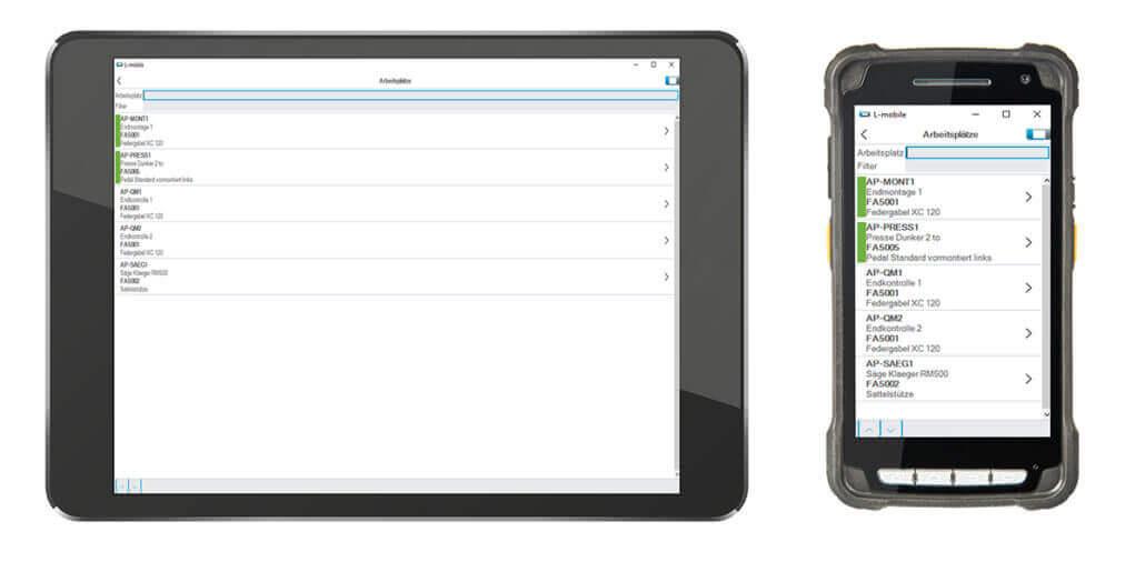 L-mobile Digitalisierte Produktion Datenerfassung BDE Uebersicht_arbeitsplaetze_Gesamt