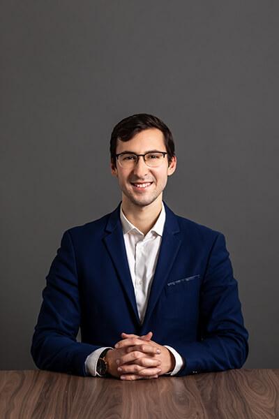 Unser Mitarbeiter Andreas Krivocheia