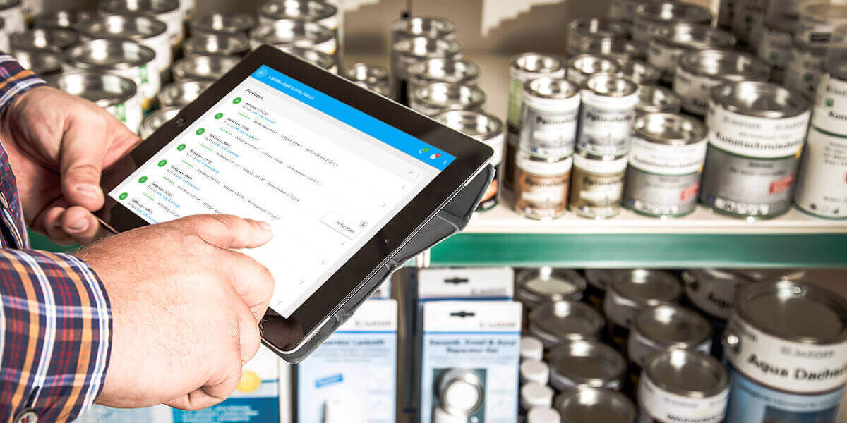 L-mobile Mobiler Vertrieb Funktionen Übersicht der Bestellungen und Umsätze des Kunden