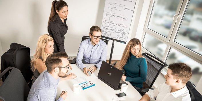 L-mobile Vernetztes Projektmanagement Software