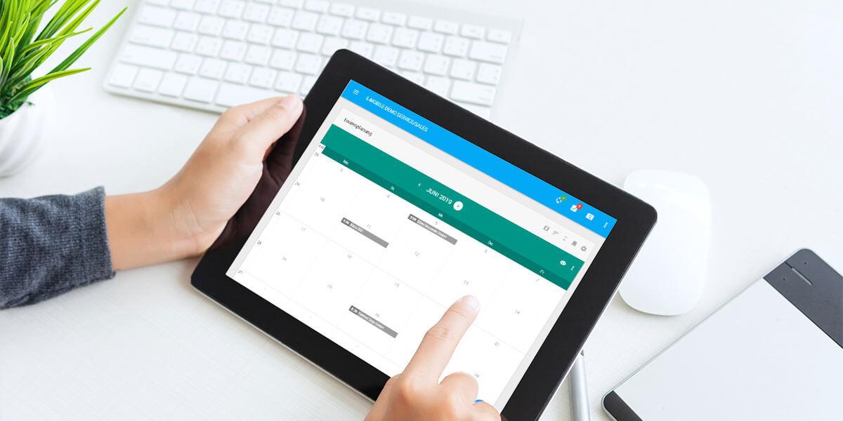L-mobile Mobiler Vertrieb Funktionen Termine und Aufgaben