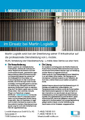 L-mobile mobile Softwarelösung Referenzbericht L-mobile infrastructure Martin Logistik