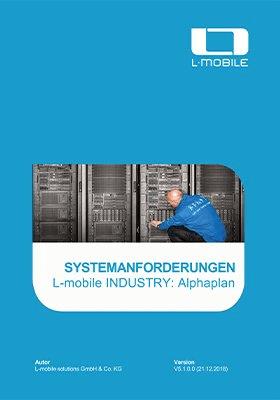 Systemanforderungen L-mobile industry: ALPHAPLAN