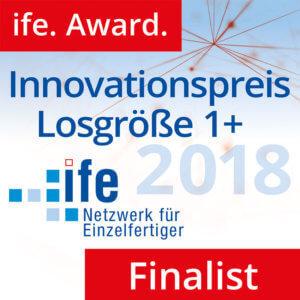 L-mobile Auszeichnungen ife Award Finalist 2018
